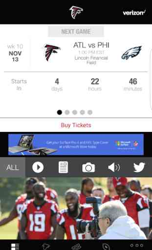 Atlanta Falcons Mobile 2