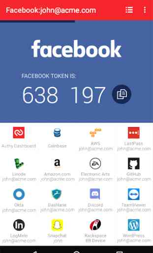 Authy 2-Factor Authentication 1