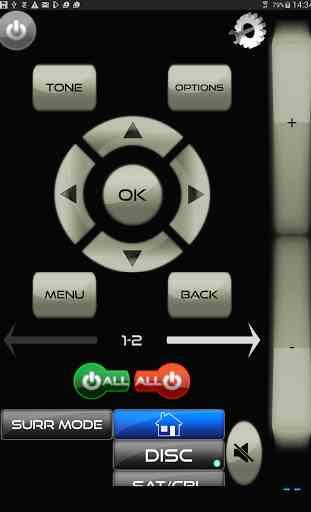AVR Remote for Harman Kardon 1