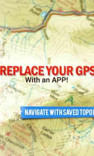 BackCountry Navigator TOPO GPS 1