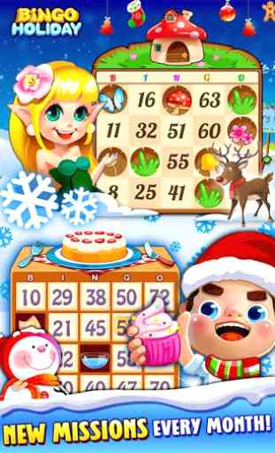 Bingo Holiday:Free Bingo Games 2