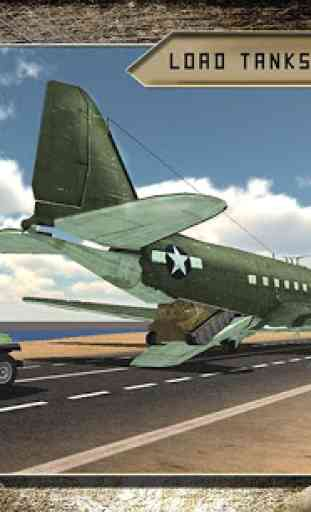 Cargo Fly Over Airplane 3D 2