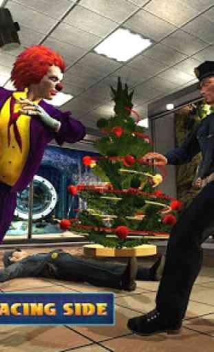 Christmas Clown Robbery Master 4