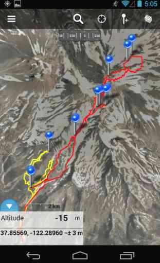 Gaia GPS: Topo Maps and Trails 4