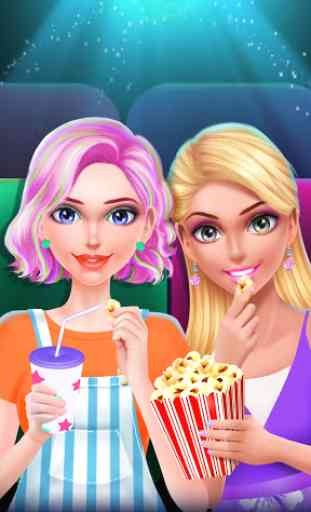 High School BFF Movie Makeover 1