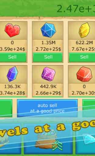 Idle Gold gem clicker 4