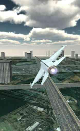 Jet Plane Fighter City 3D 1