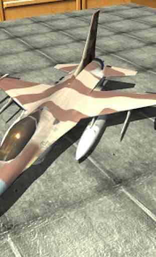 Jet Plane Fighter City 3D 2