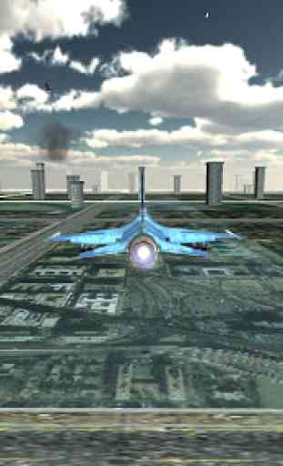 Jet Plane Fighter City 3D 3