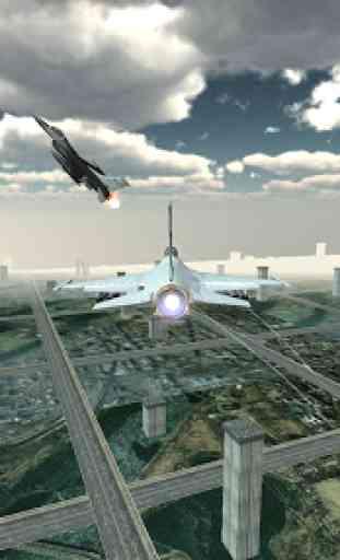 Jet Plane Fighter City 3D 4