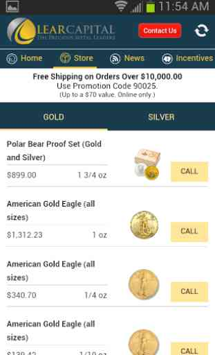 Lear Gold & Silver Daily! 2