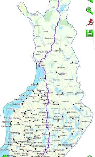 Mapitare Road Map Finland 2