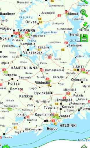 Mapitare Road Map Finland 3