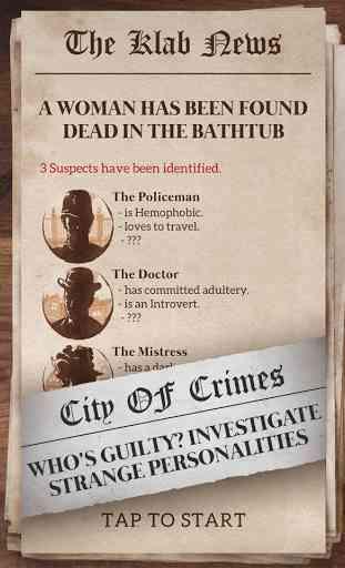 Mystery Case Files: Crime City 3
