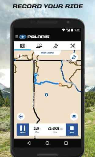 Polaris Ride Command 3