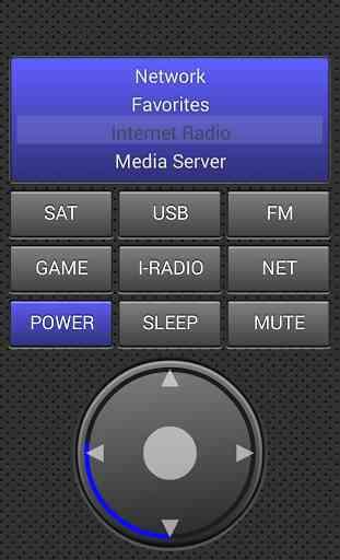 Remote Control for Denon 3