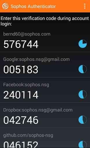 Sophos Authenticator 1