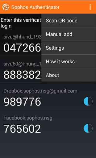 Sophos Authenticator 2
