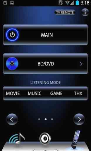 TEAC AVR Remote 2