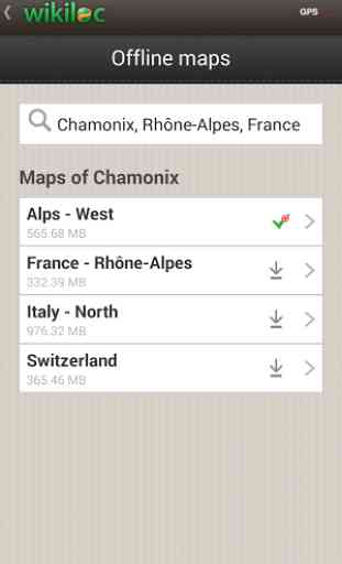 Wikiloc outdoor navigation GPS 2