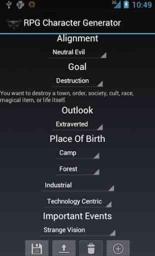 RPG Character Generator 2