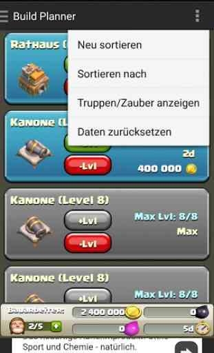 Clash Build Planner 3