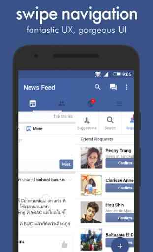 Swipe for Facebook 2