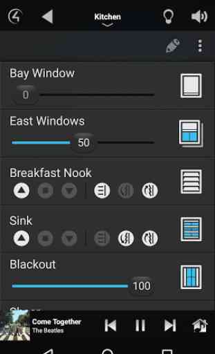 Control4® for Android 4