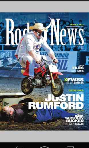 Rodeo News Nothin' But Rodeo 1