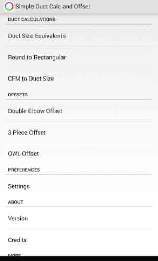 Simple Duct Calculator Deluxe 1
