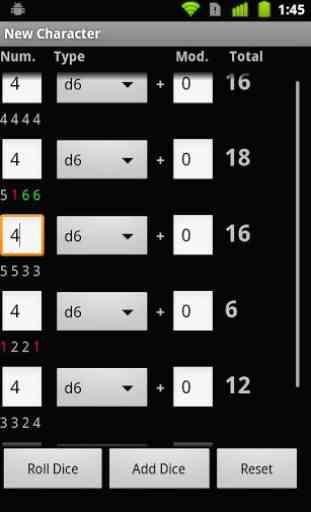 D20 DnD Dice Roller 1
