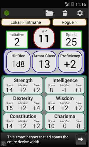 Fifth Edition Character Sheet 1