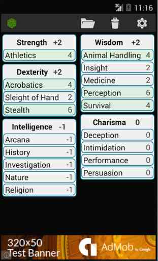 Fifth Edition Character Sheet 2