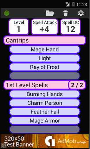 Fifth Edition Character Sheet 4