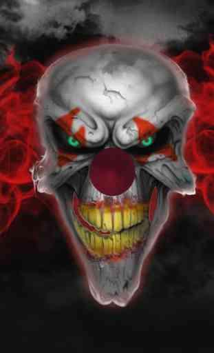 Killer Clown Live Wallpaper 1