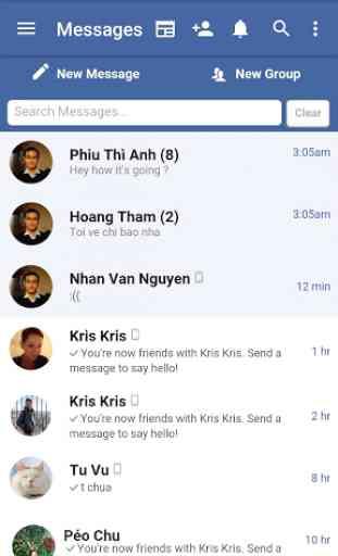 Lite Messenger for Facebook 3