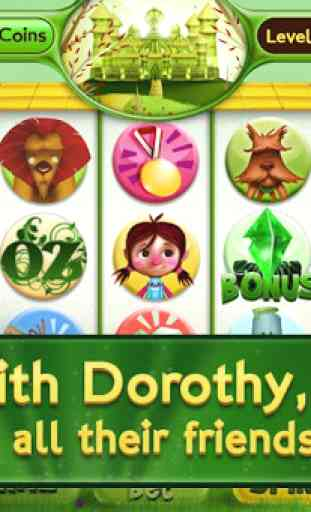 Slots Wizard of Oz 2