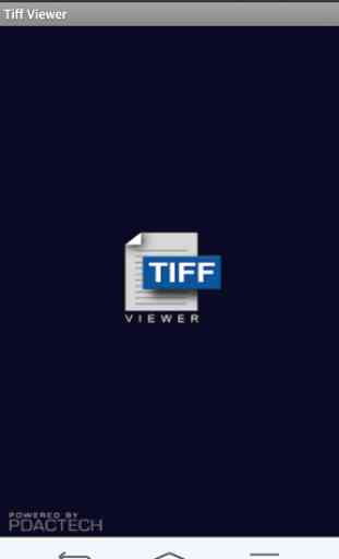 TIFF and FAX viewer - lite 4