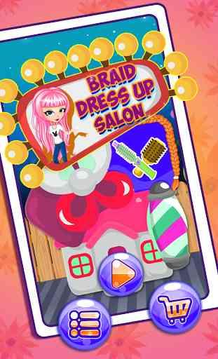 Crazy Hair Braid Salon 1