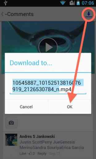 EZ Video Download for Facebook 2