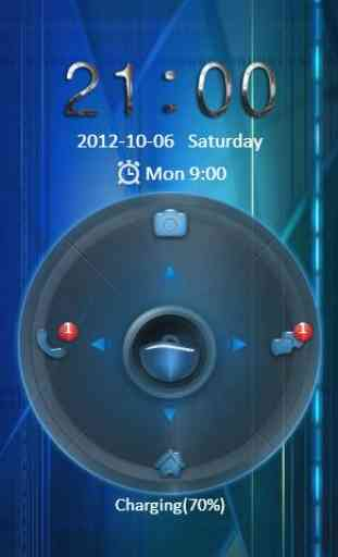 Free Oblivion Go Locker Theme 2