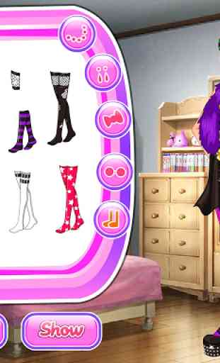 Girl Go Punk, Dress Up Games 2