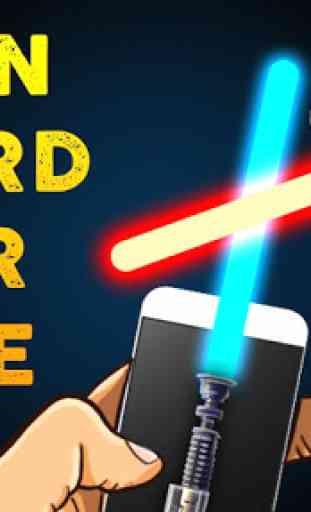 Neon Sword War Joke 1