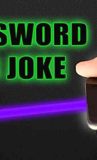 Neon Sword War Joke 3