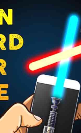 Neon Sword War Joke 4