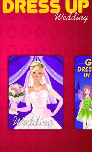 Wedding Dress Up Game 1