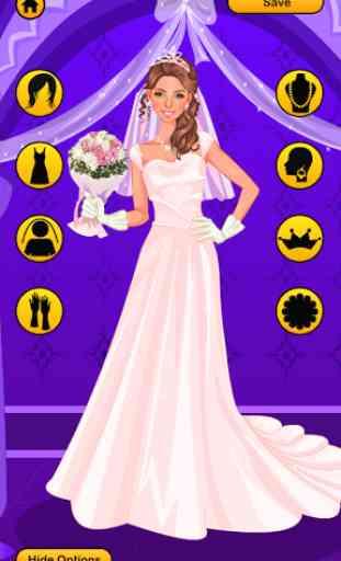 Wedding Dress Up Game 4