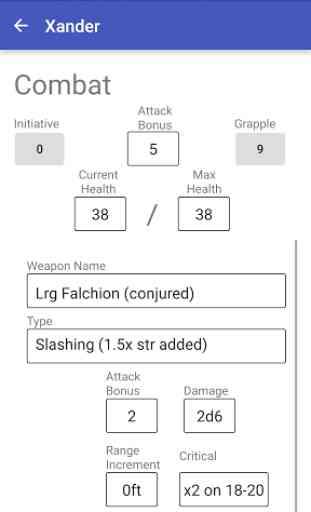 Character Sheet (3.5) 1