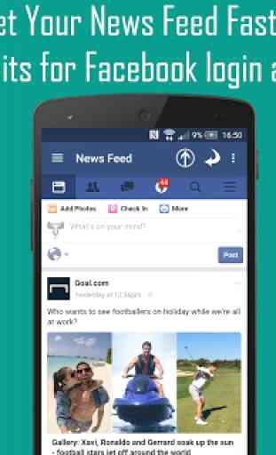 Mini For Facebook - Mini FB 2