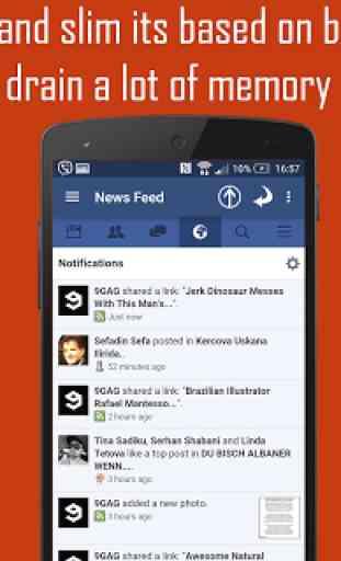 Mini For Facebook - Mini FB 3